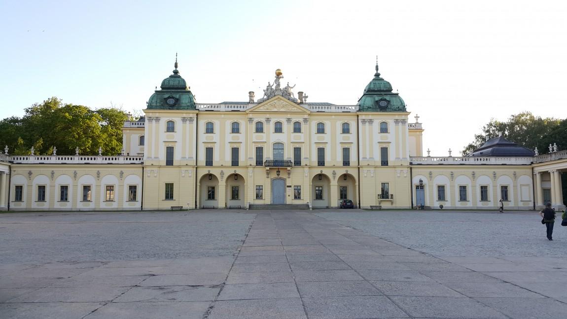 Wykonanie balustrad w Pałacu Branickich