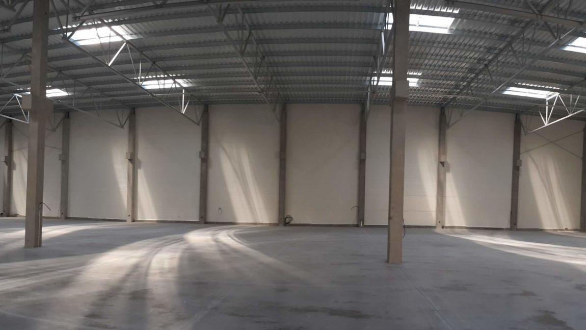 Prefabrykacja oraz montaż konstrukcji stalowej hali magazynowej