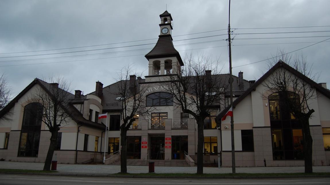 Wykonanie i montaż elementów ślusarskich w Ratuszu Miejskim w Michałowie