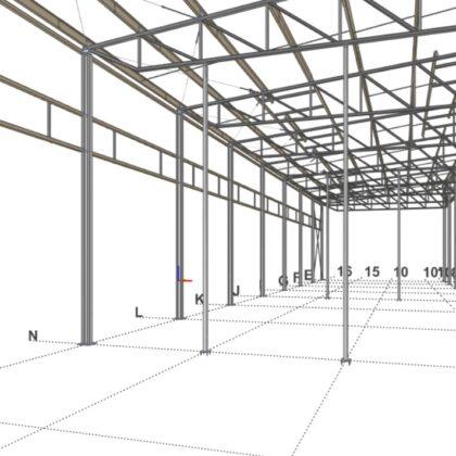 Projektowanie oraz optymalizacja elementów oraz konstrukcji stalowych